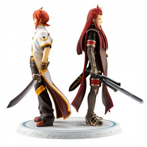 PREORDER - Kotobukiya Tales Of The Abyss Luke And Asch Meaning Of Birth Ani Statue (red)