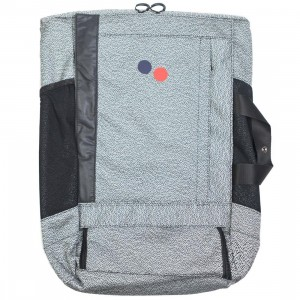 PinqPonq Blok Large Backpack (gray / monochrome)