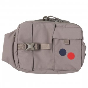 PinqPonq Tetrik Hip Bag (brown / taupe)