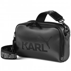 Puma x Karl Lagerfeld Small Shoulder Bag (black)