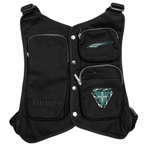 Puma x Rhude Men Utility Vest (black)
