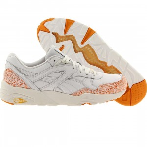 Puma Men R698 - Snow Splatter Pack (white / fluo orange)
