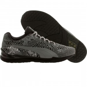 Puma Men XS500 TK Graphic (gray / black / capri breeze)
