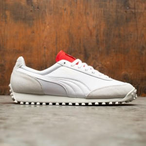 Puma Men Fast Rider Rudolf Dassler Legacy Collection (white / high risk red / vaporous gray)
