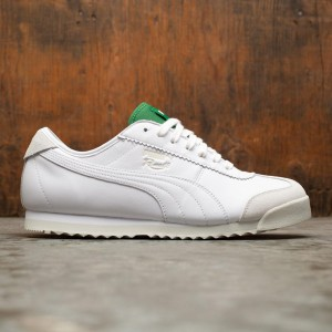 Puma Men Roma '68 Rudolf Dassler Legacy Collection (white  / amazon green / vaporous gray)