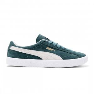 Puma Men Suede VTG (green / ponderosa pine / puma white)