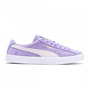 Puma Men Suede VTG (purple)