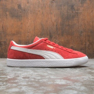 Puma Men Suede VTG Vintage (red / white)