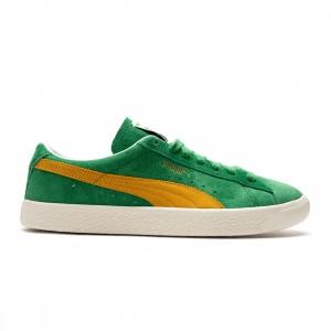 Puma Men Suede VTG (green / amazon green / saffron / ivory glow)