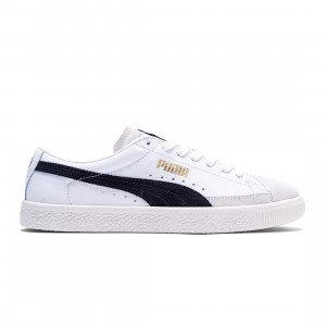 Puma Men Basket VTG (white / black)