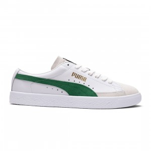 Puma Men Basket VTG (white / green / grey)