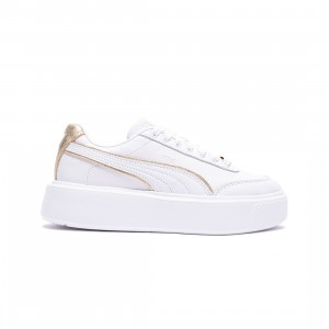 Puma Women Oslo Maja Metal (white / team gold)