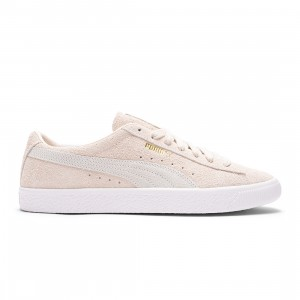 Puma Men Suede VTG Earth Break (khaki / eggnog / white)