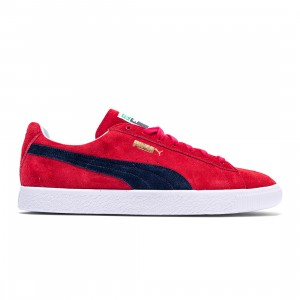 Puma Men Suede VTG MIJ Retro (red / high risk red / new navy)