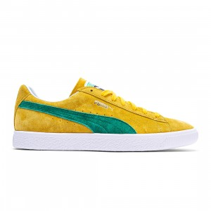 Puma Men Suede VTG MIJ Retro (yellow / spectra yellow / amazon green)