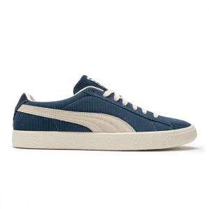 Puma x Butter Goods Men Basket VTG (blue / dark denim / whisper white)