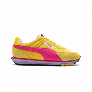 Puma Women Lo Rider Vintage (yellow / super lemon / glowing pink)