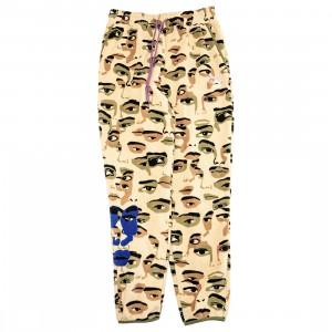 Puma x KidSuper Studios Men Fleece AOP Pants (khaki)