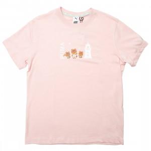 Puma x Animal Crossing Men Tee (pink / lotus)