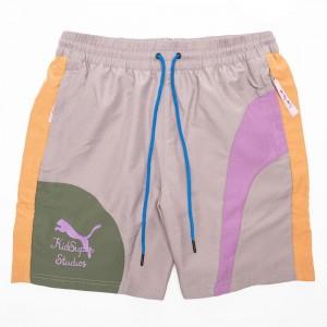 Puma x KidSuper Studios Men Woven Shorts (gray / storm front)