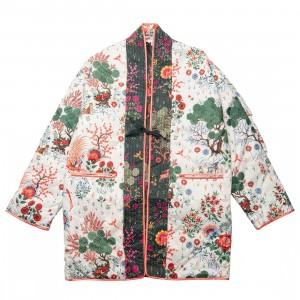 Puma x Liberty Women Kimono (green / green gables / aop)