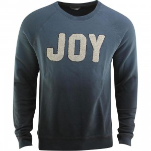 Puma x BWGH Joy Top Sweater (blue / shale brown)