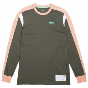 Puma x Emory Jones Men Drive Long Sleeve Tee (green)