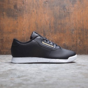 Reebok Women Princess (black / white / gold metallic)