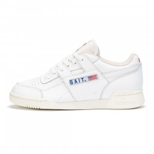 BAIT x Reebok Men Workout Plus (white / collegiate royal)