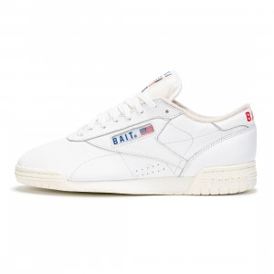 BAIT x Reebok Men Exofit Lo Clean (white / collegiate royal)