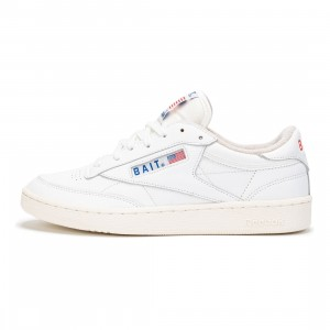 BAIT x Reebok Men Club C 85 (white / collegiate royal)