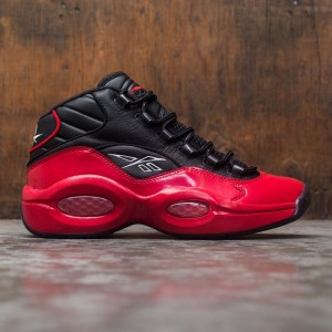Reebok Men Question Mid (black / vector red)