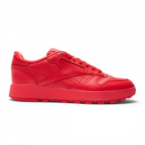 Reebok x Maison Margiela Men Project 0 Classic Leather (red / vector red / white / black)
