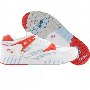 Reebok Men Sole-Trainer (white / blue / cadmium / steal)