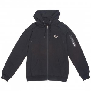 Paper Planes Men Altitude Zip Up Hoody (black)