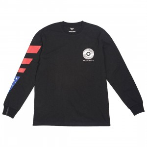 Paper Planes Men Almighty Long Sleeve Tee (black)