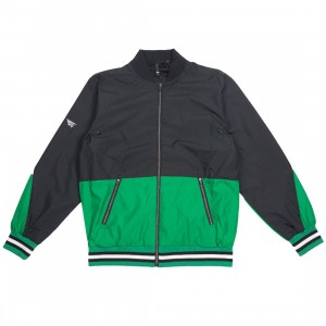 Paper Planes Men Ascent Jacket (black / green)