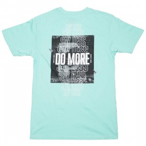 Paper Planes Men Do More Tee (blue / mint)