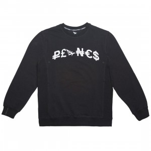 Paper Planes Men Good Money Crew Sweater (black)