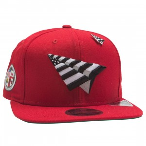Paper Planes The Crown Snapback Cap - California Love with Pin (red)