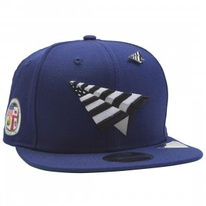 abf3ca55a848d7 Paper Planes The Crown Snapback Cap - California Love with Pin (blue /  royal)
