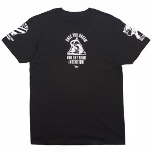 Paper Planes Men Trifecta Tee (black)