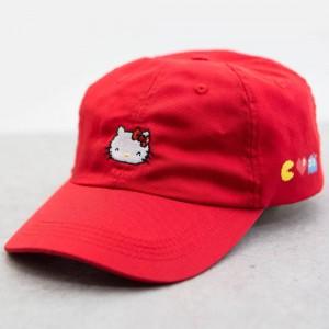 BAIT x Sanrio x Pac-Man Hello Kitty Hat (red)