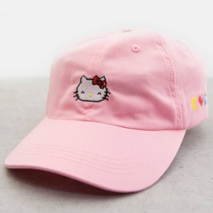 BAIT x Sanrio x Pac-Man Hello Kitty Hat (pink)