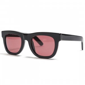 Super Sunglasses Ciccio Sunglasses (black / bordeaux)