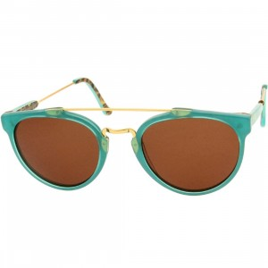 Super Sunglasses Giaguaro (teal / print)