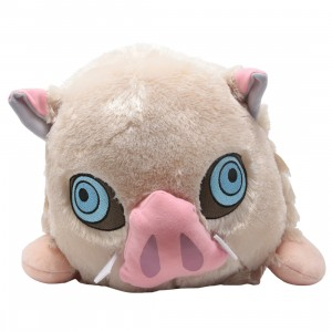 Sega Demon Slayer Kimetsu no Yaiba Hashibira Inosuke MEJ Lay-down Plush (pink)