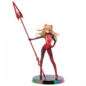 Sega Rebuild of Evangelion Asuka Shikinami Langley Spear of Cassius Limited Premium Figure (red)