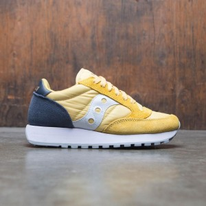 Saucony Women Jazz Original (yellow / navy)