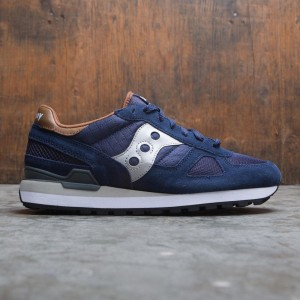 Saucony Men Shadow Original (navy / brown)